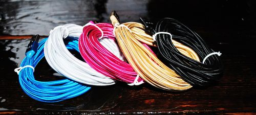 10ft Braided iPhone 5,6,7,8,X,XR,XR (Lightning) Cable
